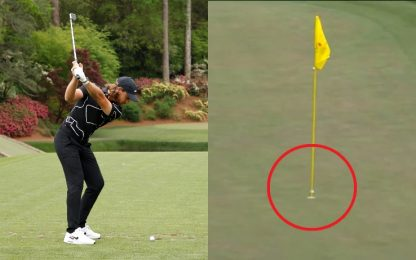 "Masters, la strepitosa ""hole-in-one"" di Fleetwood"