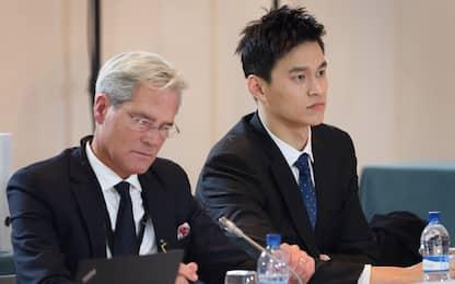 Doping, processo Sun Yang: il nuotatore si difende