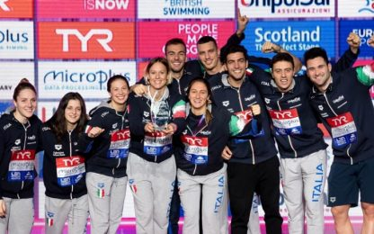 Europei Glasgow, Italia da record di medaglie