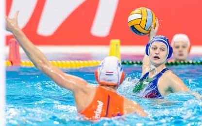Europei, Setterosa ko 10-4 con l'Olanda