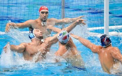 Europei, Serbia-Italia 8-7: Settebello sesto