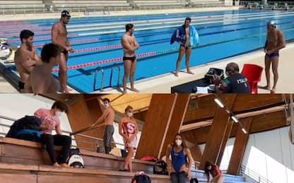 Nuoto, Paltrinieri e Quadarella tornano in acqua