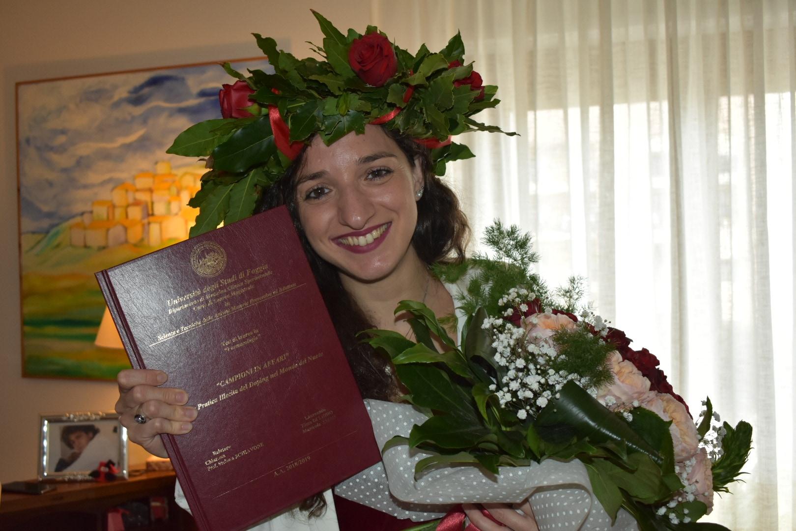 La laurea di Elena Di Liddo
