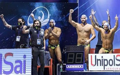 Champions: vincono Pro Recco, Ortigia e Brescia