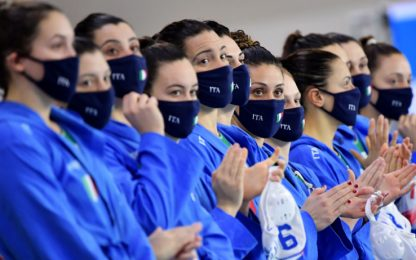 Setterosa battuto dall'Ungheria, niente Olimpiadi