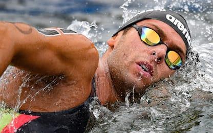 Europei: oro Paltrinieri nella 5km, bronzo Verani