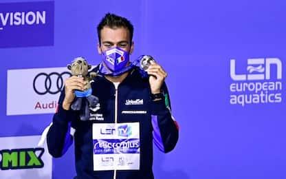 A Budapest 7 medaglie e 2 record italiani