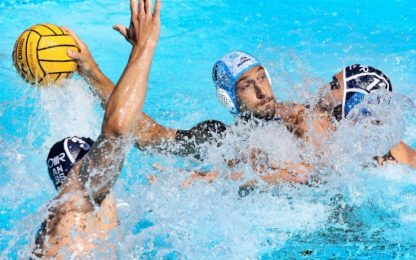 Finali scudetto gara-1: Pro Recco-Brescia 8-9