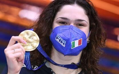 Quadarella-Panziera-Pilato: tre ori per l'Italia