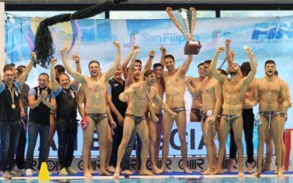 Brescia campione d'Italia, Pro Recco ko 11-10