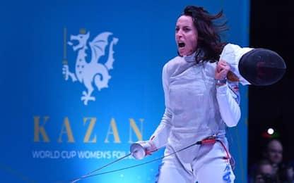 Ruggito Di Francisca a Kazan: vince dopo 15 mesi