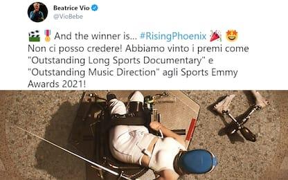 Sports Emmy Awards, due premi a docufilm Bebe Vio