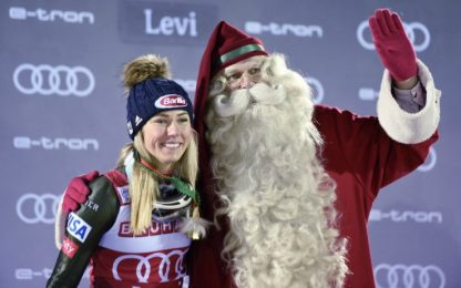 Storica Shiffrin, vince a Levi e supera Stenmark