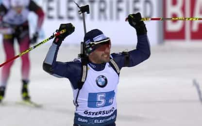 Biathlon, Italia terza in staffetta a Ostersund