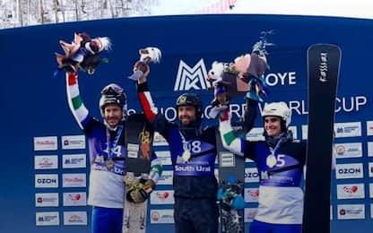 Snowboard, March e Bormolini sul podio a Bannoye