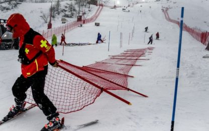 Maltempo, cancellato slalom speciale Val d'Isere