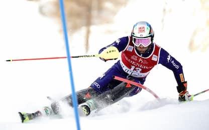 Slalom Val d'Isere, exploit Gross: chiude 3°