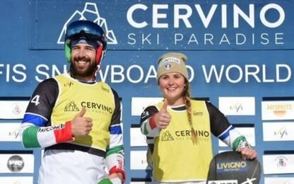 Snowboard: Sommariva-Moioli, l'Italia domina