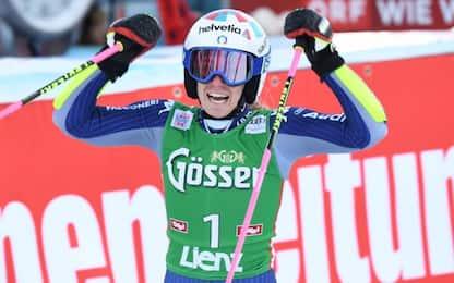 Gigante Lienz, Bassino 2^, vince Shiffrin