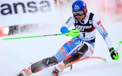Slalom Zagabria, Vlhova vince davanti a Shiffrin