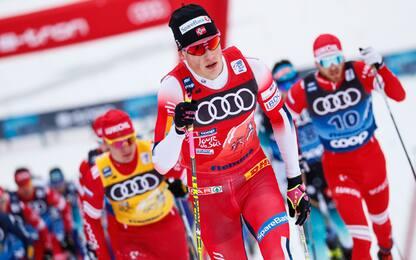 Tour de Ski, Klaebo fa sua la 15 Km mass start