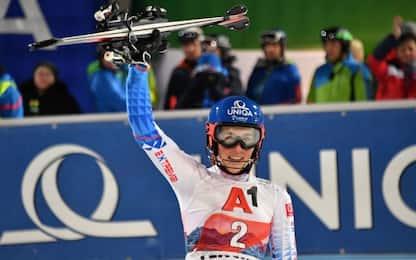 Slalom Flachau, trionfo Vlhova. Terza Shiffrin