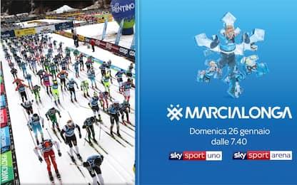 Marcialonga, la 47^ edizione è live su Sky Sport