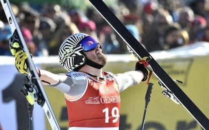 SuperG Kitzbuhel, vince il norvegese Jansrud