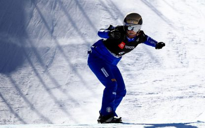 Snowboard cross, trionfo per Visentin e Moioli