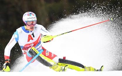 Slalom Kitzbuehel, trionfa Yule. 7° Razzoli