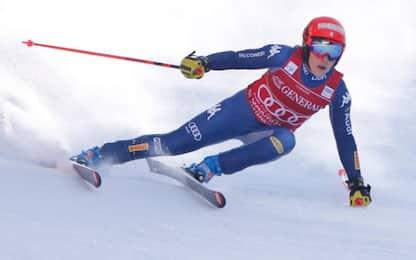 Brignone 5^ nel SuperG di Garmisch. Vince Suter