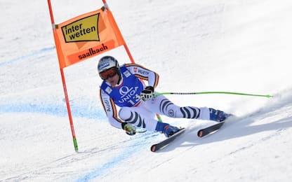 Discesa Saalbach, vince il tedesco Dressen
