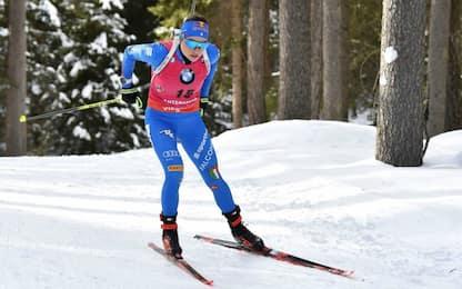 Vittozzi e Wierer deludono: 6^ e 7^ nella sprint