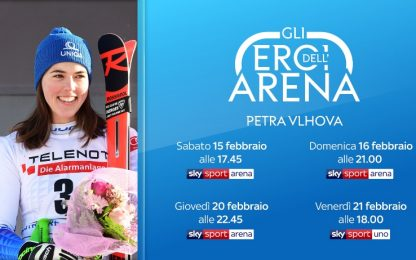 """Petra Vlhova si racconta a """"Gli Eroi dell'Arena"""""""