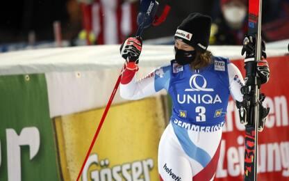 Gisin spezza il dominio Shiffrin-Vhlova in slalom