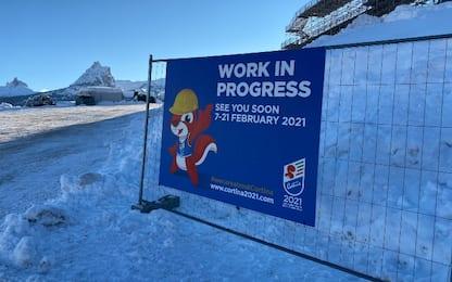 Mondiali sci Cortina, un mese al via