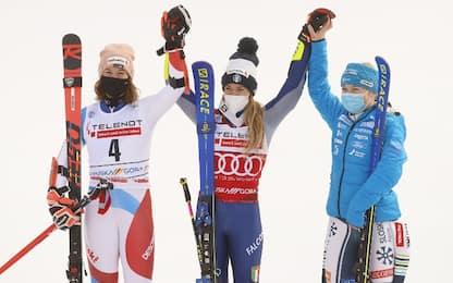 Gigante Kranjska Gora: Marta Bassino vince ancora