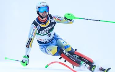 ZAGREB, CROATIA - JANUARY 06: Sebastian Foss-Solevaag of Norway during the Audi FIS Alpine Ski World Cup Slalom on January 6, 2021 in Zagreb, Croatia. Photo: Slavko Midzor/PIXSELL