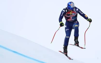 Paris terzo in discesa a Kitzbühel. Vince Feuz