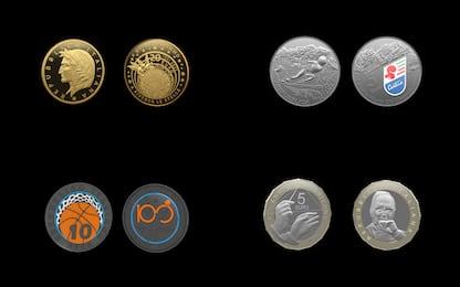 Euro, nuove monete omaggiano Mondiali di sci e FIP