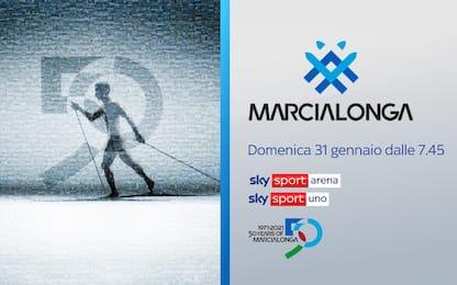 Marcialonga, oltre 2000 al via per la 50^ edizione