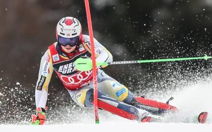 Slalom Chamonix, vince Kristoffersen. 7° Razzoli