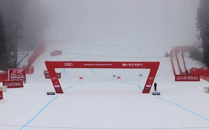 Garmisch: troppa nebbia, Super-G rinviato a lunedì