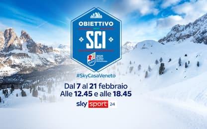 Mondiali sci Cortina 2021, la guida tv