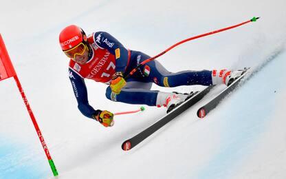 SuperG Garmisch: vince Kriechmayr, 5° Innerhofer