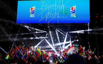 Neve e musica, a Cortina partono i Mondiali. FOTO