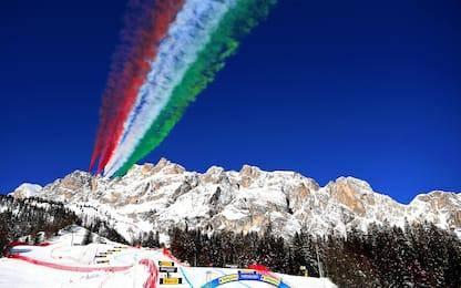 Cortina, che spettacolo le Frecce Tricolori! FOTO