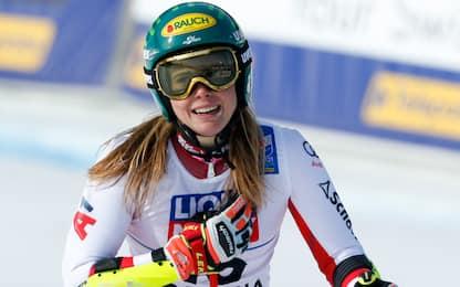 """Lo slalom è di Liensberger, Shiffrin 3^ a quasi 2"""""""