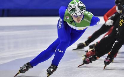 Mondiali: argento Fontana, bronzo Sighel