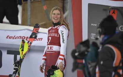 Alla Liensberger lo slalom bis di Are, Shiffrin 2a